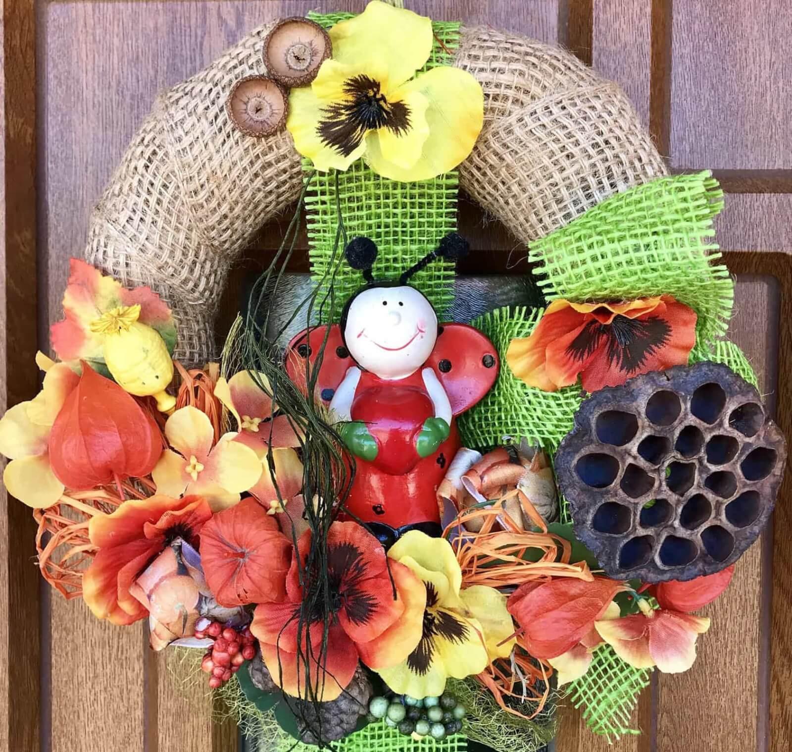 Podzimní věnec Berta