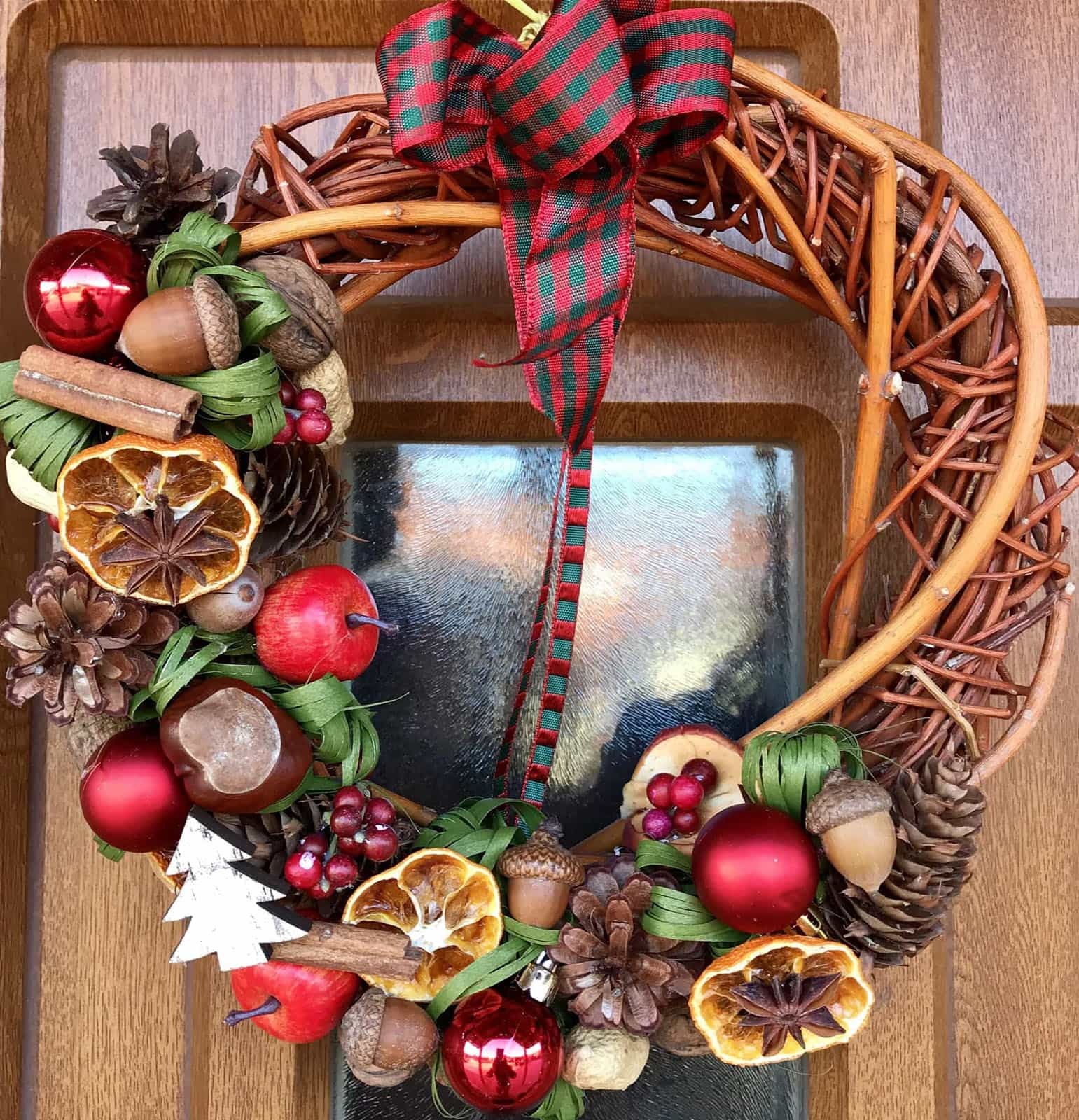 Vánoční věnec Tradice