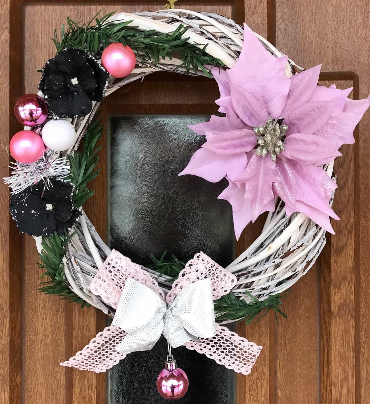 Vánoční věnec Růženka