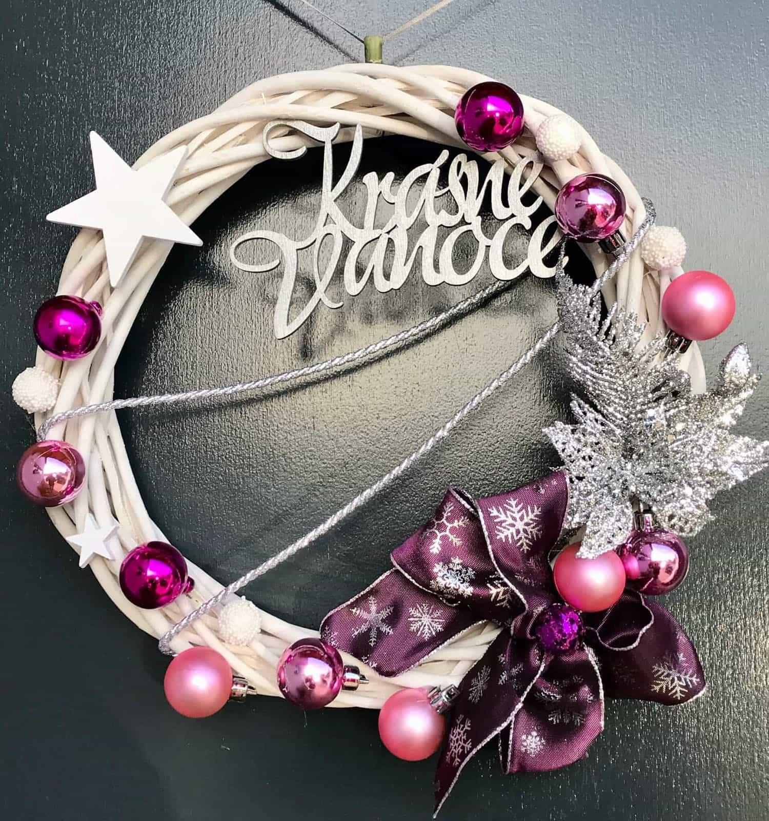 Vánoční věnec Vlaďka