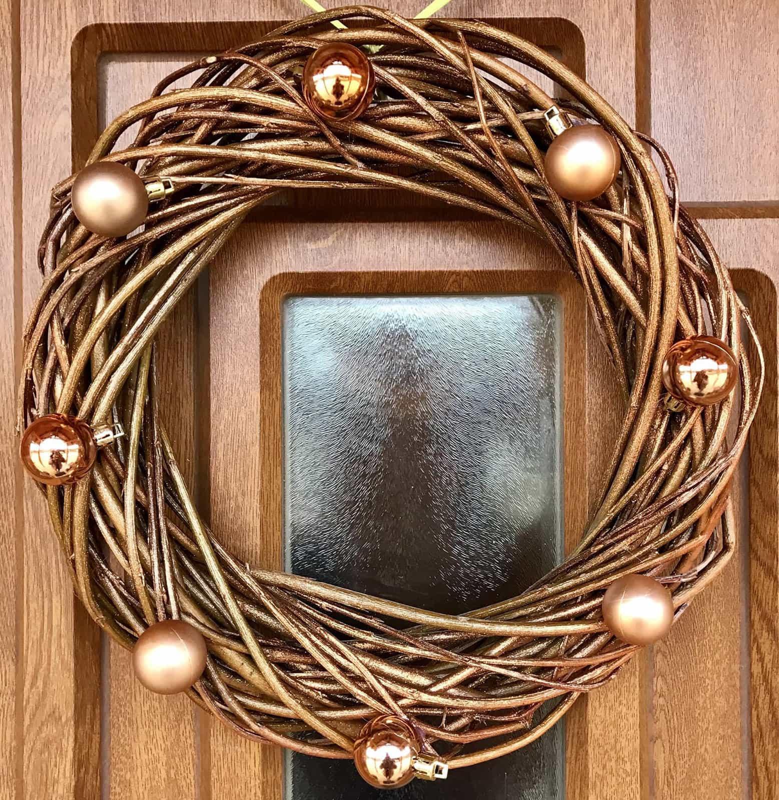 Vánoční věnec Zlatuše