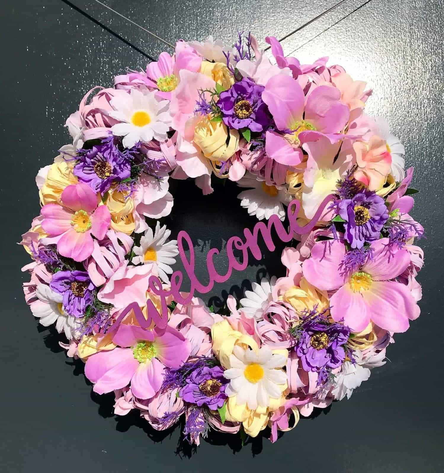 Květinový věnec Iveta