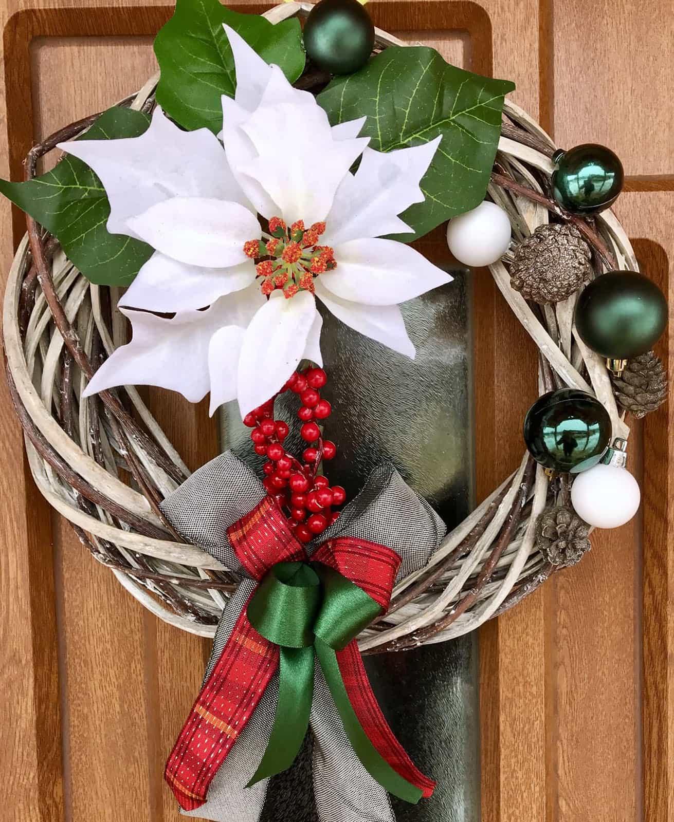 Vánoční věnec Severka