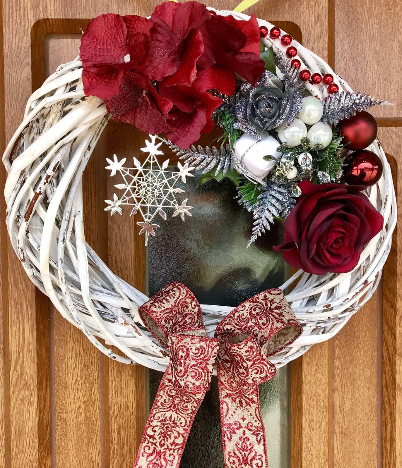 Vánoční věnec Carmen