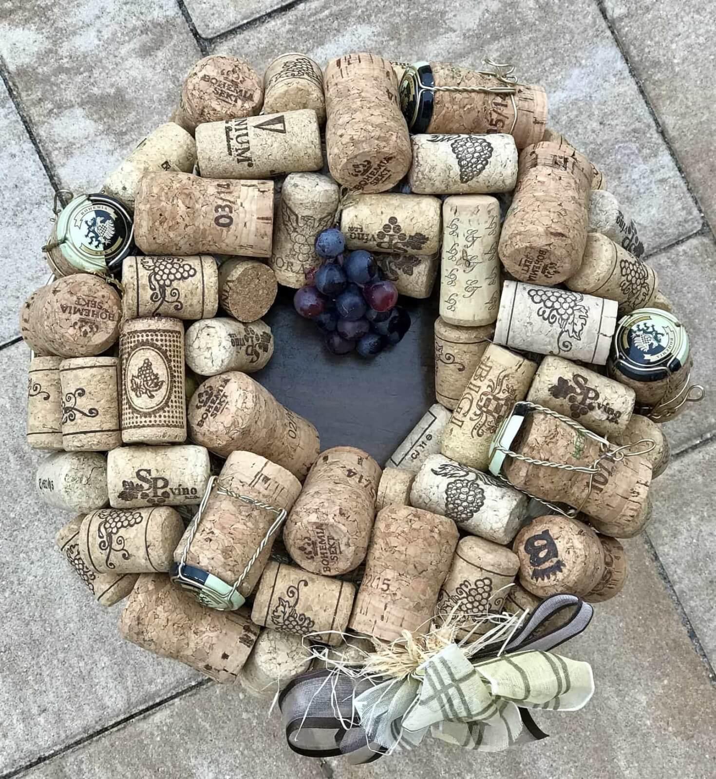 Věnec Víno